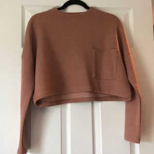 NEW MISSGUIDED CROPPED RIBBED SWEATER